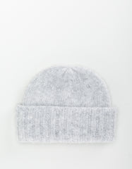 Micaela Greg Wooly Beanie Heather Grey