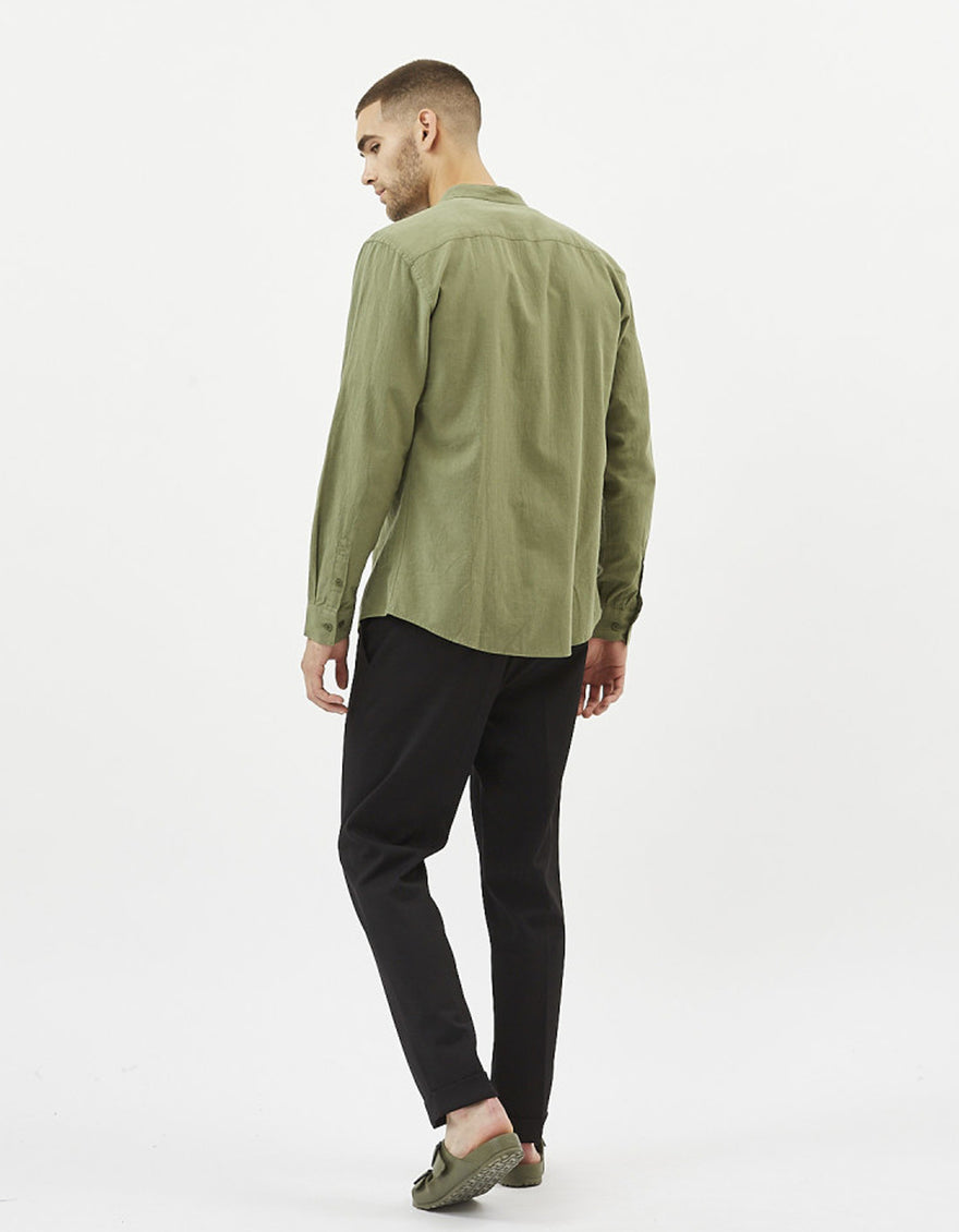 Minimum Anholt Shirt Olivine Melange