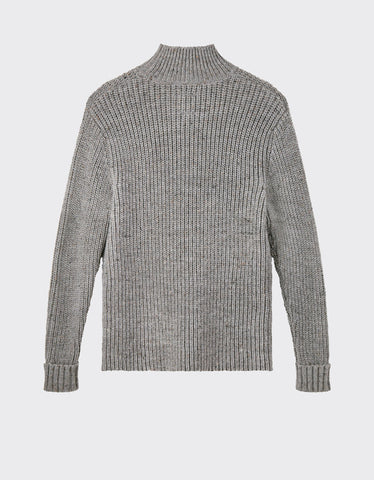 Minimum Bille Turtleneck Light Grey Melange