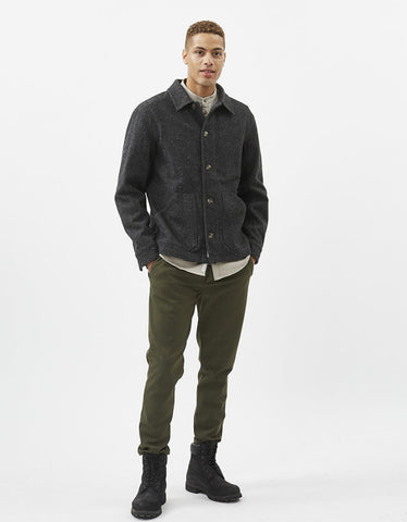 Minimum Charles Lightweight Jacket Dark Grey Melange