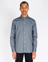 Minimum Chris Shirt Light Navy - Still Life - 1