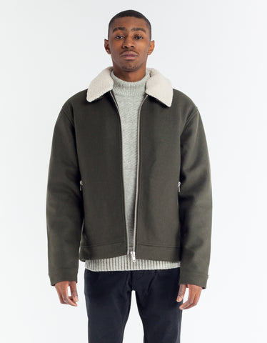 Minimum Dawkins Outerwear Dark Forrest