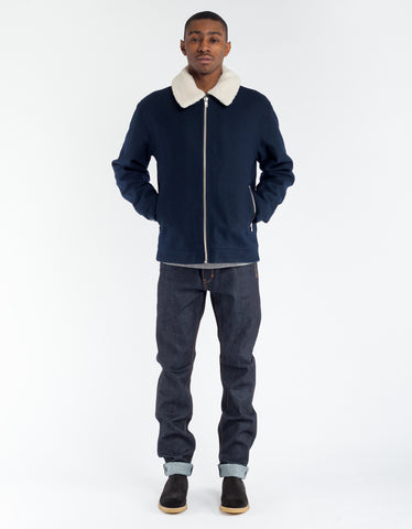 Minimum Dawkins Outerwear Dark Navy