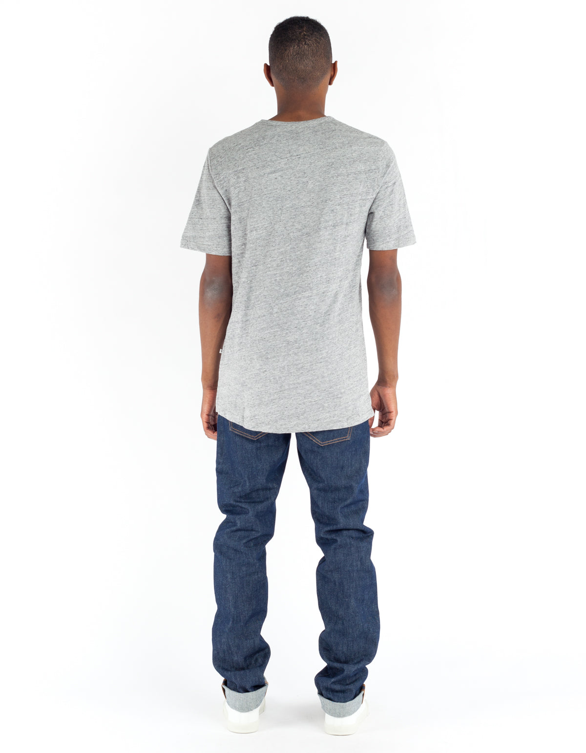 Minimum Delta Tee Light Grey Melange