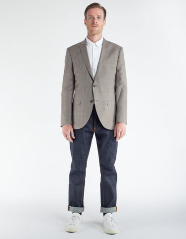 Minimum Heyward Blazer Oyster Grey Melange