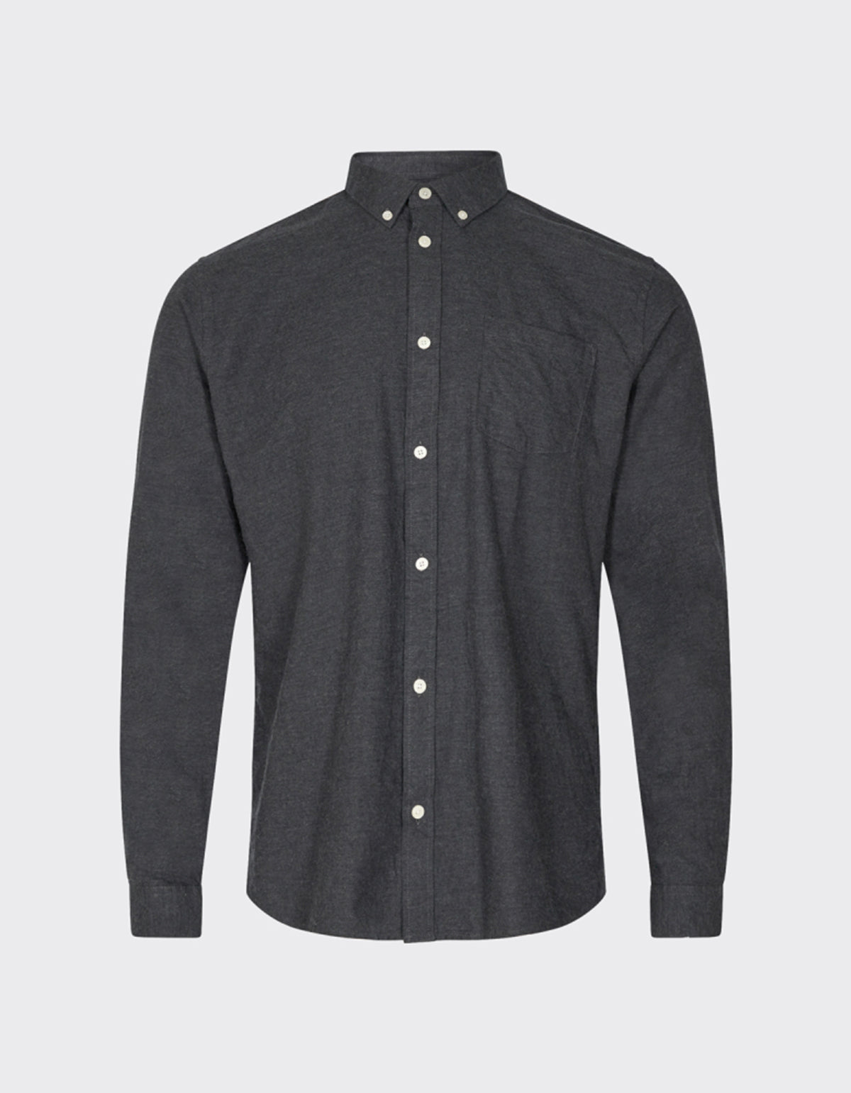 Minimum Jay 2.0 Shirt Carbon Melange