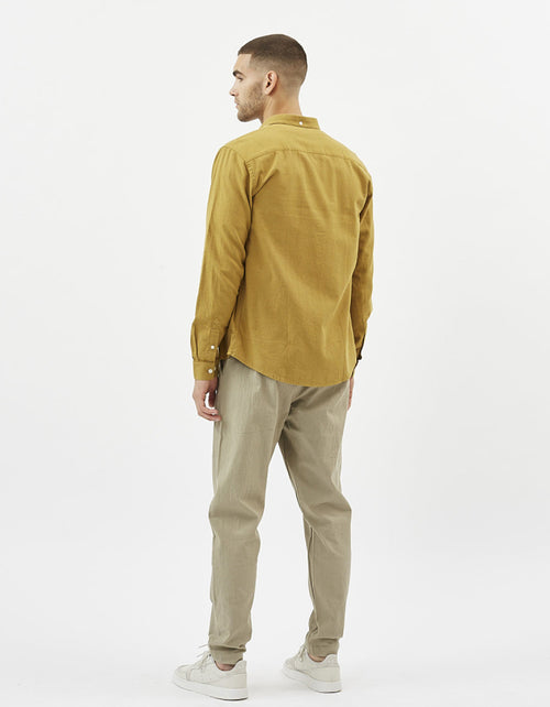 Minimum Jay 2.0 Shirt Dried Tobacco
