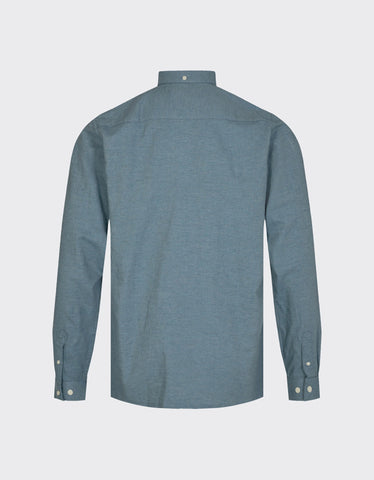 Minimum Jay 2.0 Shirt Bluestone Melange