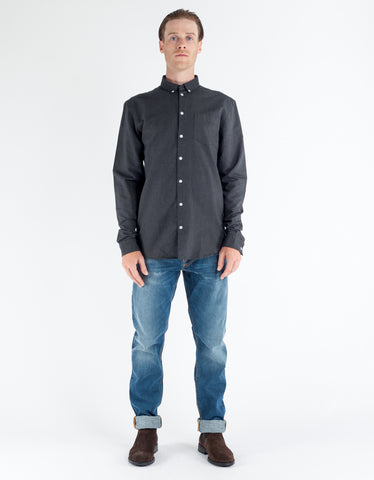 Minimum Jay Shirt Charcoal