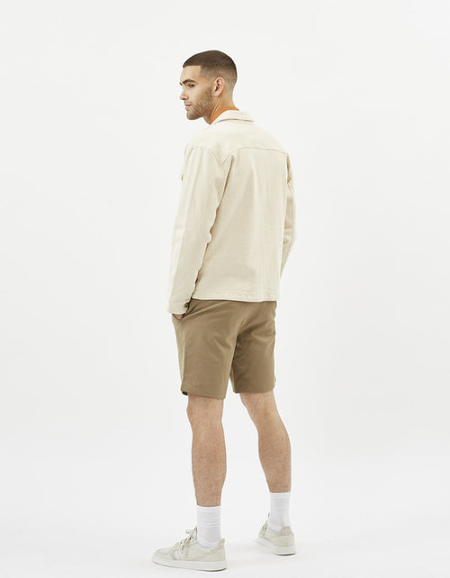 Minimum Mackenzie Overshirt in Broken White