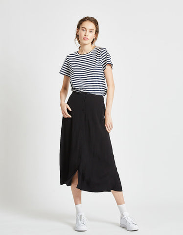 Minimum Maisa Midi Skirt Black