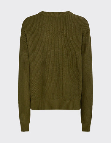 Minimum Mikala Jumper Dark Olive