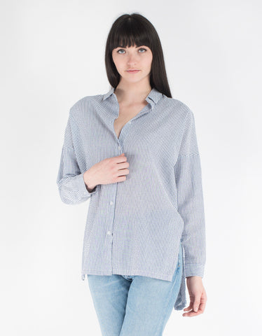 Minimum Mounia Shirt Faded Denim