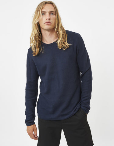 Minimum Reiswood 2.0 Jumper Navy Blazer Melange