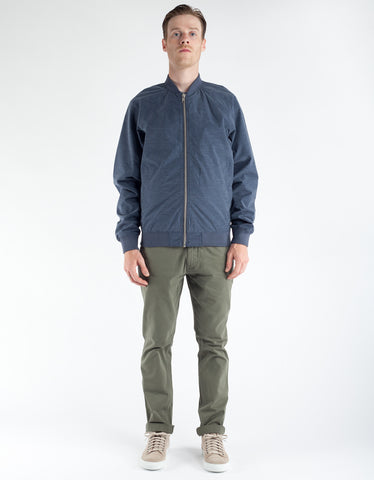 Minimum Starego Outerwear Dark Navy Melange
