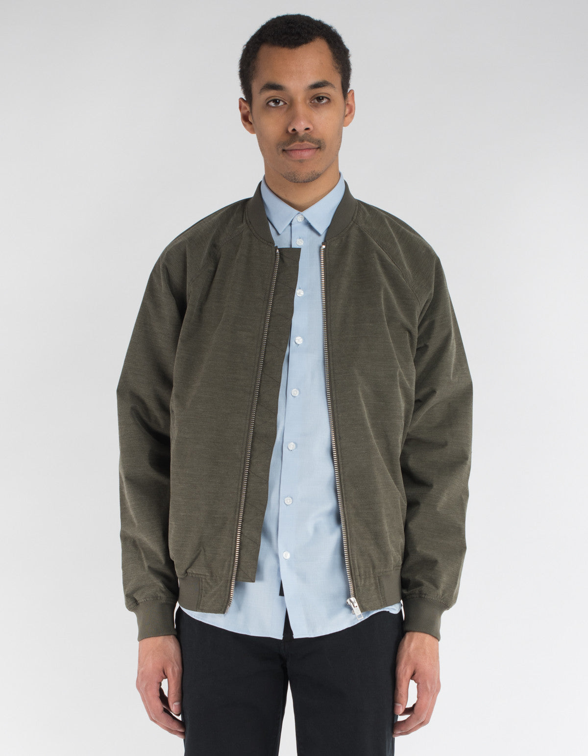 Minimum Starego Outerwear Sea Turtle Melange
