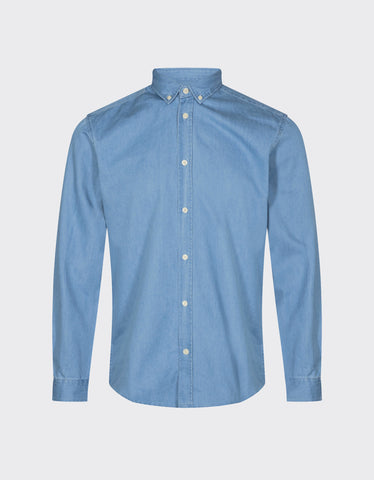 Minimum Walther Shirt Light Blue