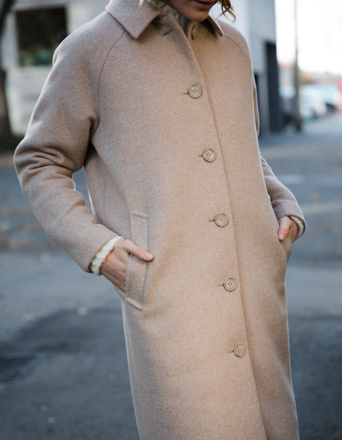 Minimum Berrtel Coat, Oatmeal
