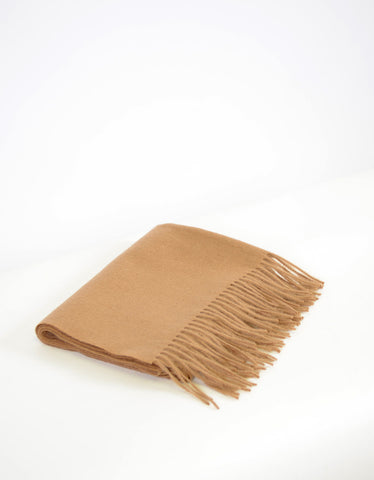 Minimum Gry Wool Scarf Camel - Still Life