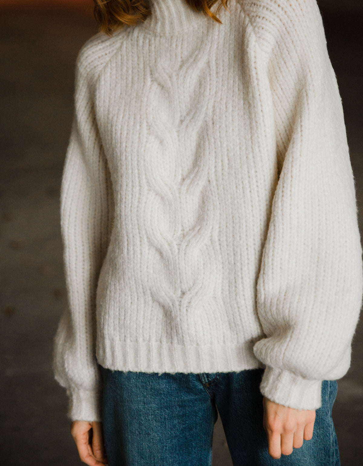 Minimum Yutte Sweater, Broken White