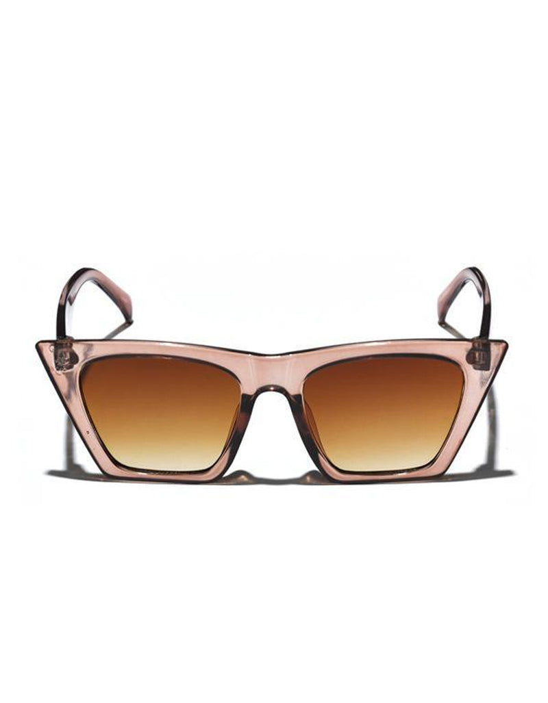 Mulberry & Grand Square Cat Eye Sunglasses Blush