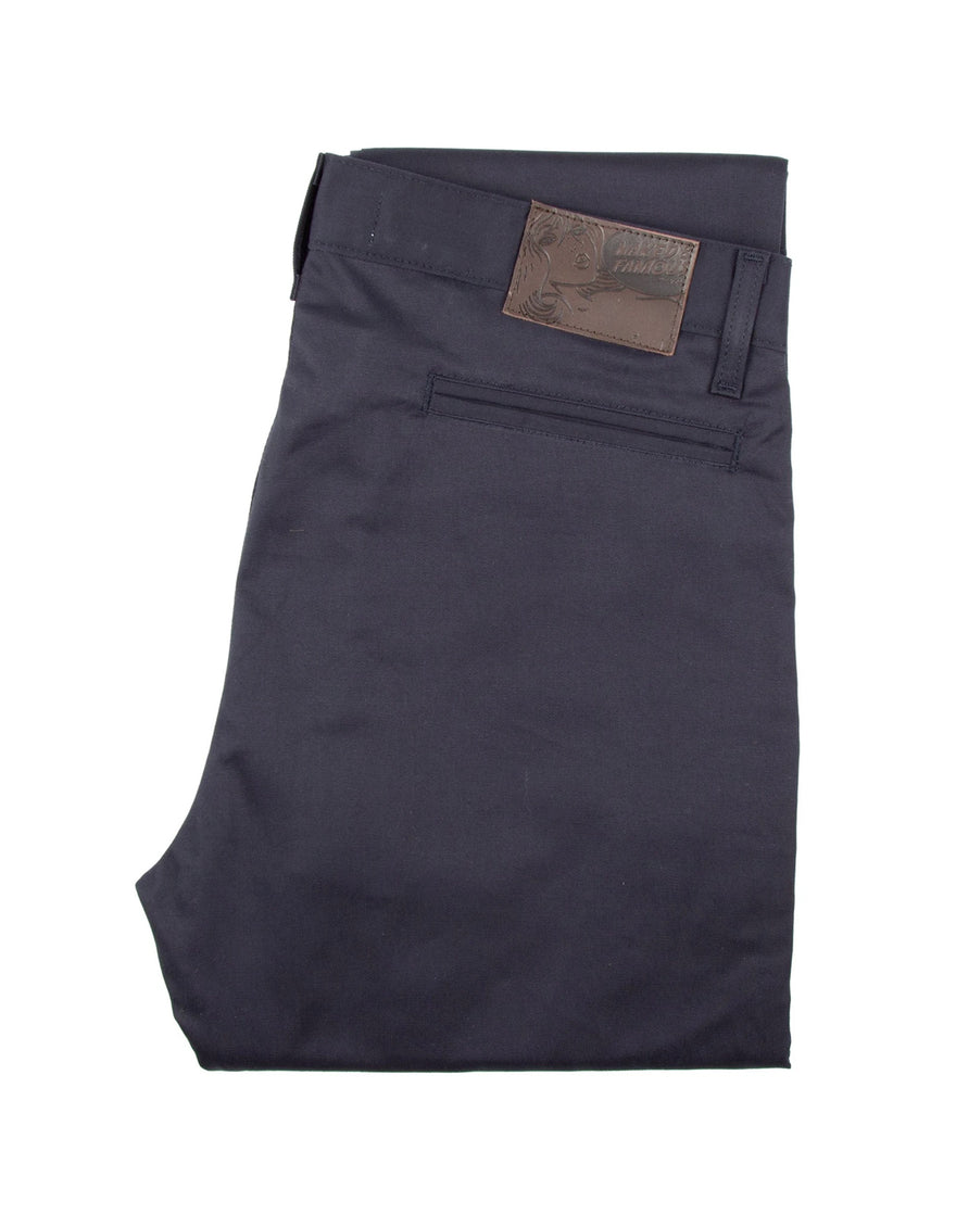 Naked & Famous Slim Chino Stretch Twill in Navy