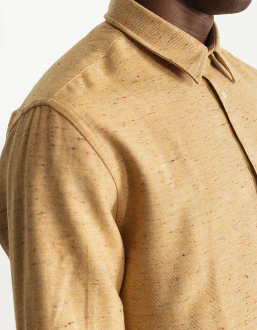 National Standards Japanese Nep Twill Shirt Ochre