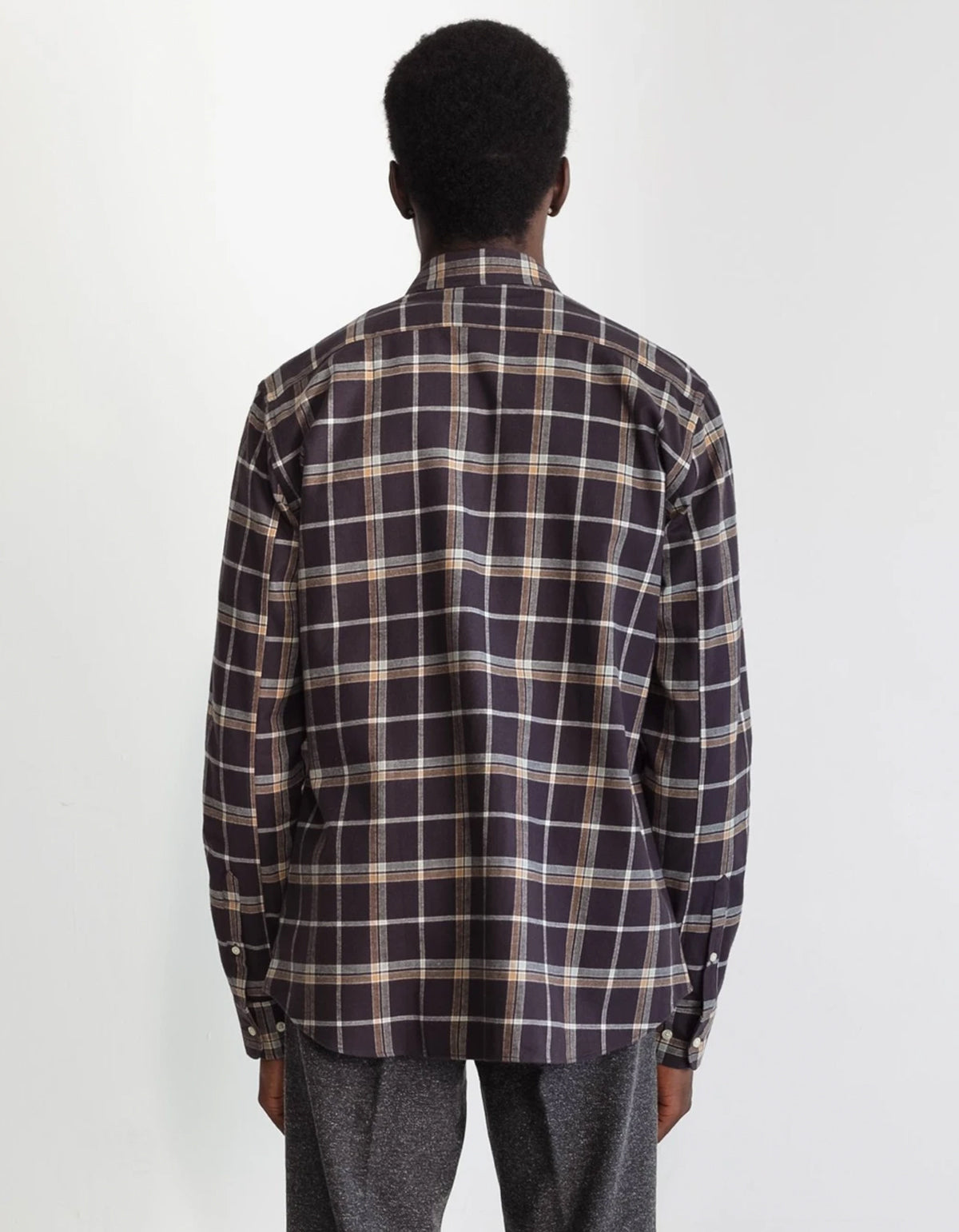 National Standards Japanese Newton Plaid Brown