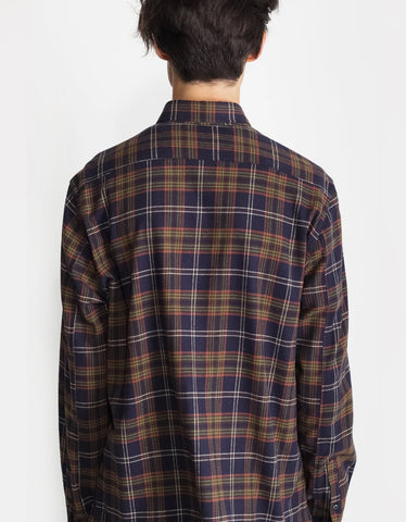 National Standards Japanese Owen Plaid in Black & Green