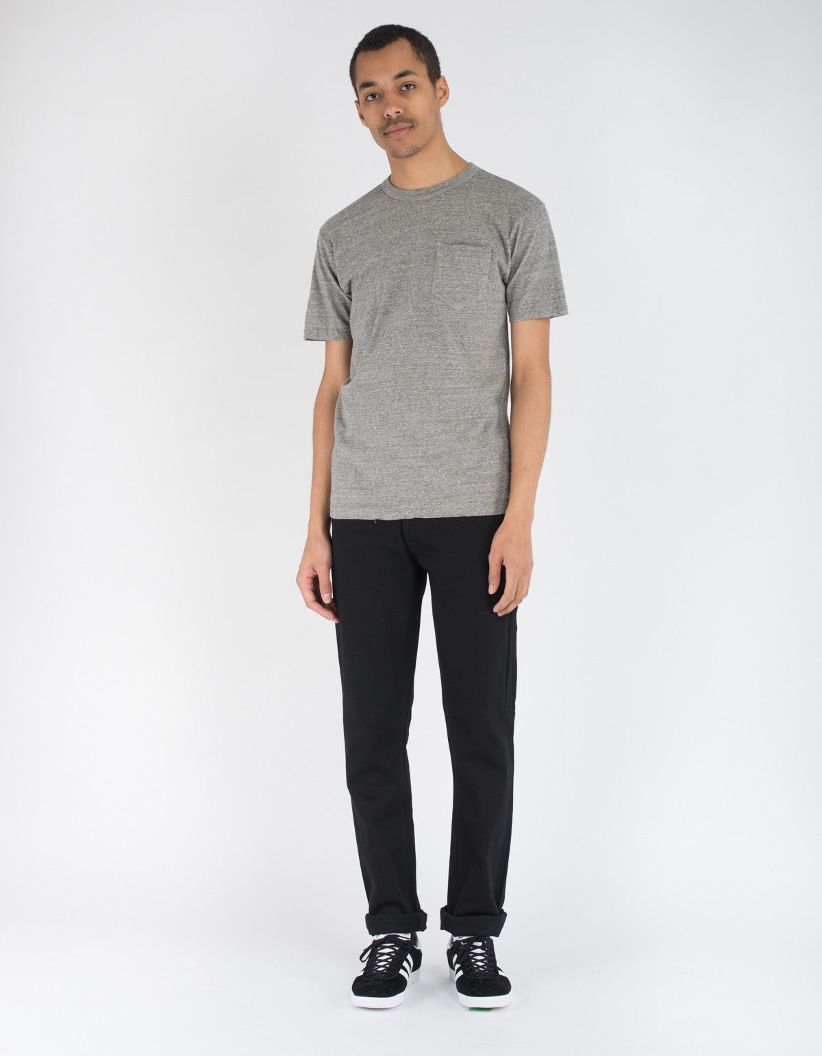 National Athletic Goods Pocket Tee Sport Grey