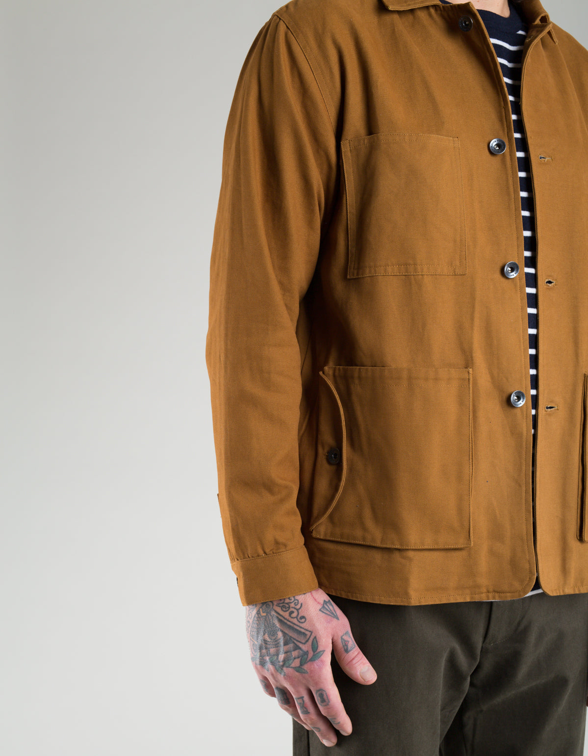 Native North Canvas Jacket Rust