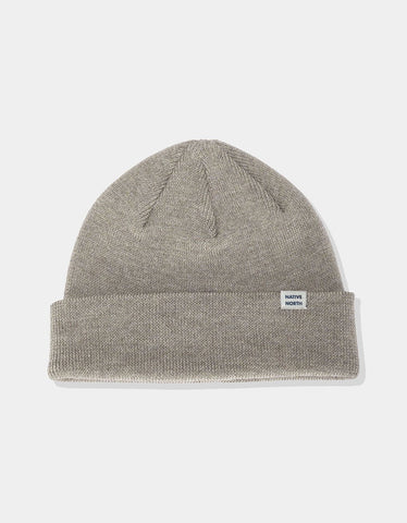 Native North Merino Melange Beanie Sand