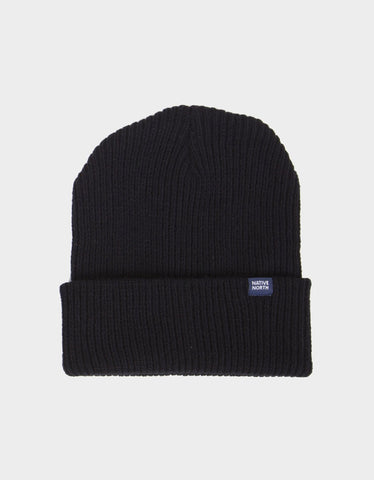 Native North Native Top Beanie Black