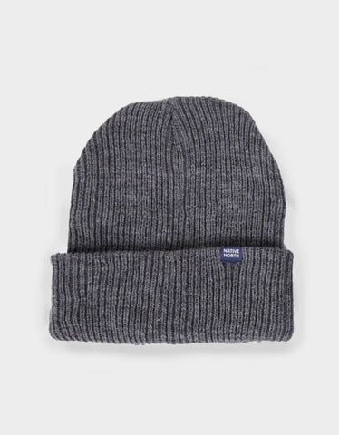 Native North Native Top Beanie Grey