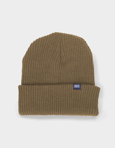 Native North Native Top Beanie Mustard