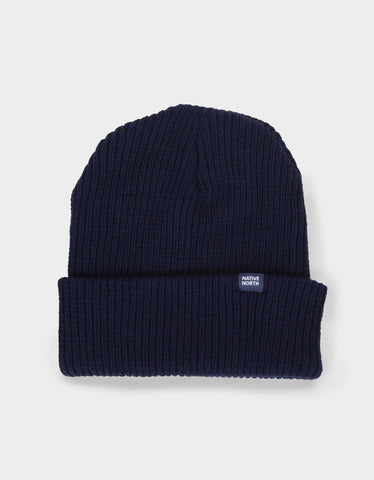 Native North Native Top Beanie Navy
