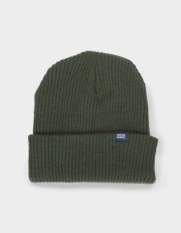 Native North Native Top Beanie Olive