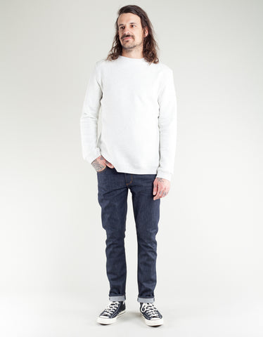 Native North French Terry Crewneck Light Grey