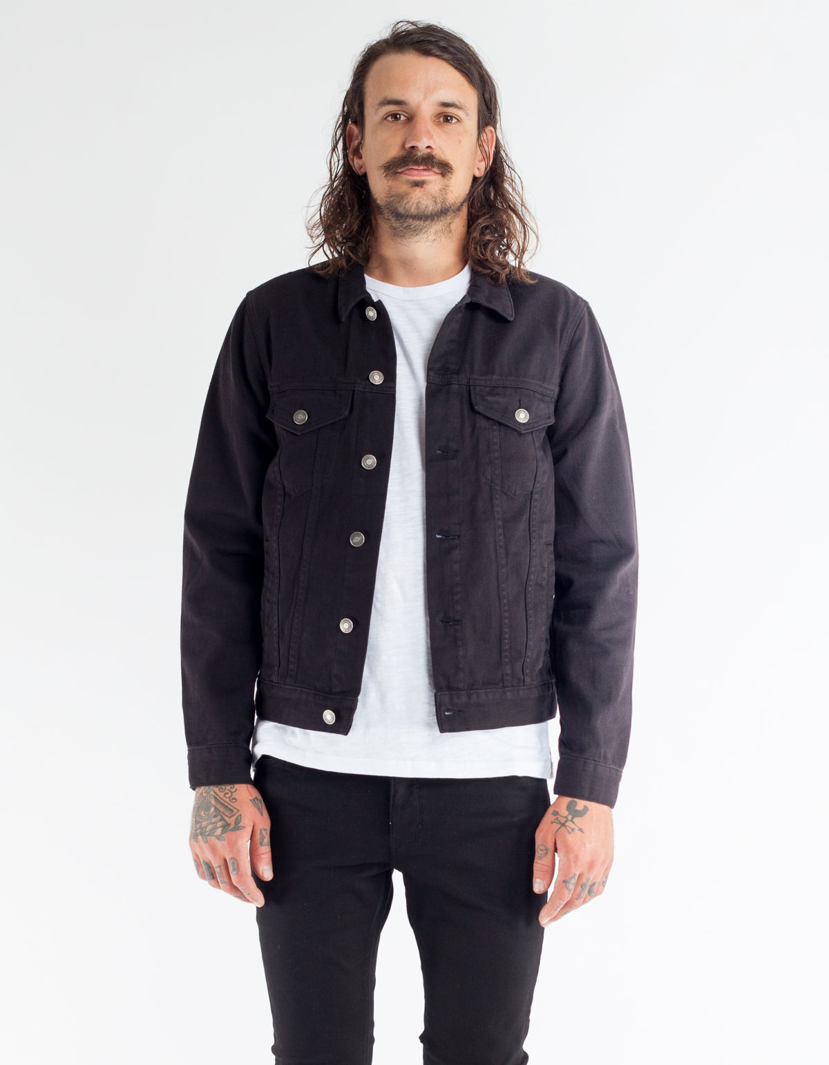 Neuw Denim Jacket Dominion Black