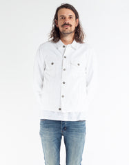Neuw Denim Jacket Spike Island White