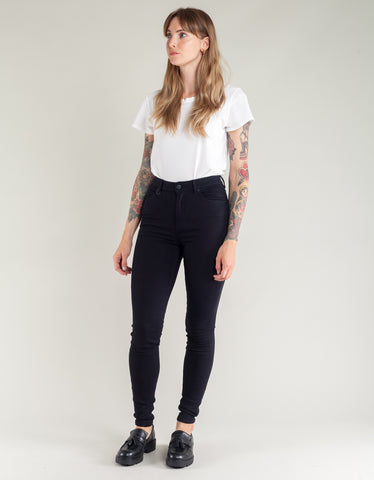 Neuw Marilyn Super High Skinny Jean Blackest Silk