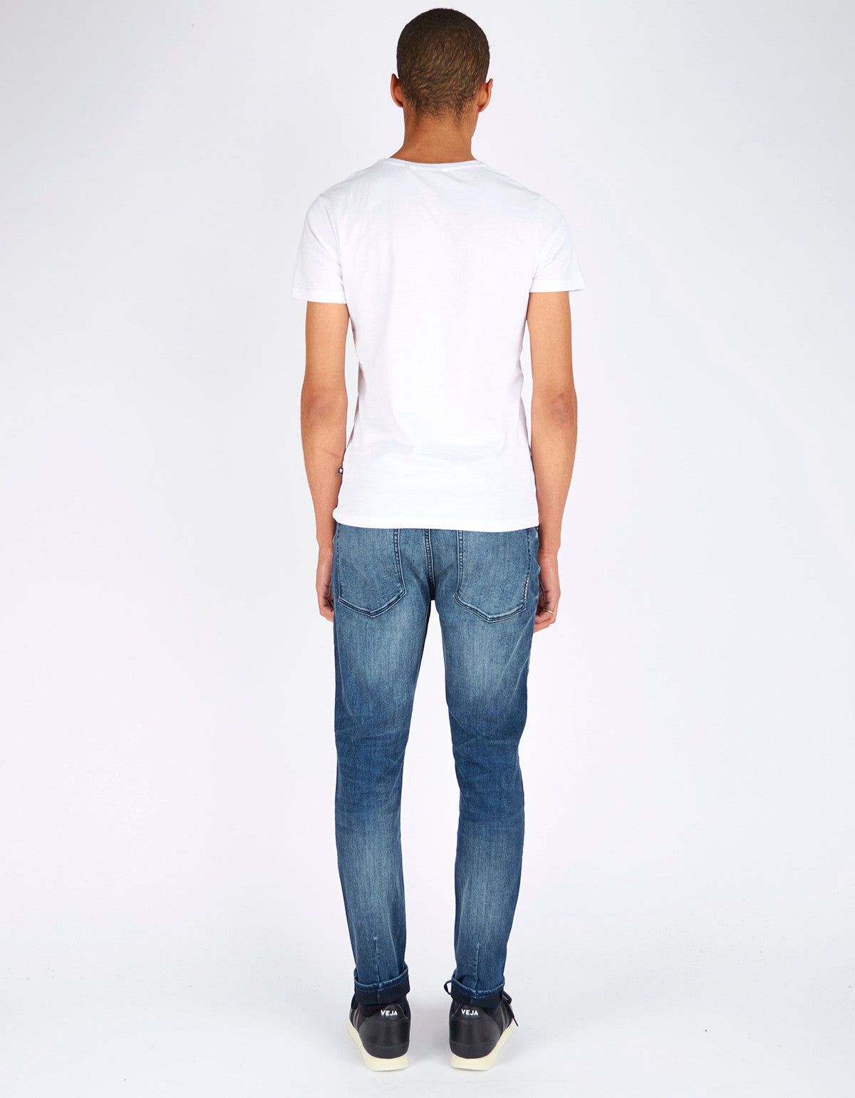 Neuw Ray Tapered Jean Blue Washed - Still Life - 3