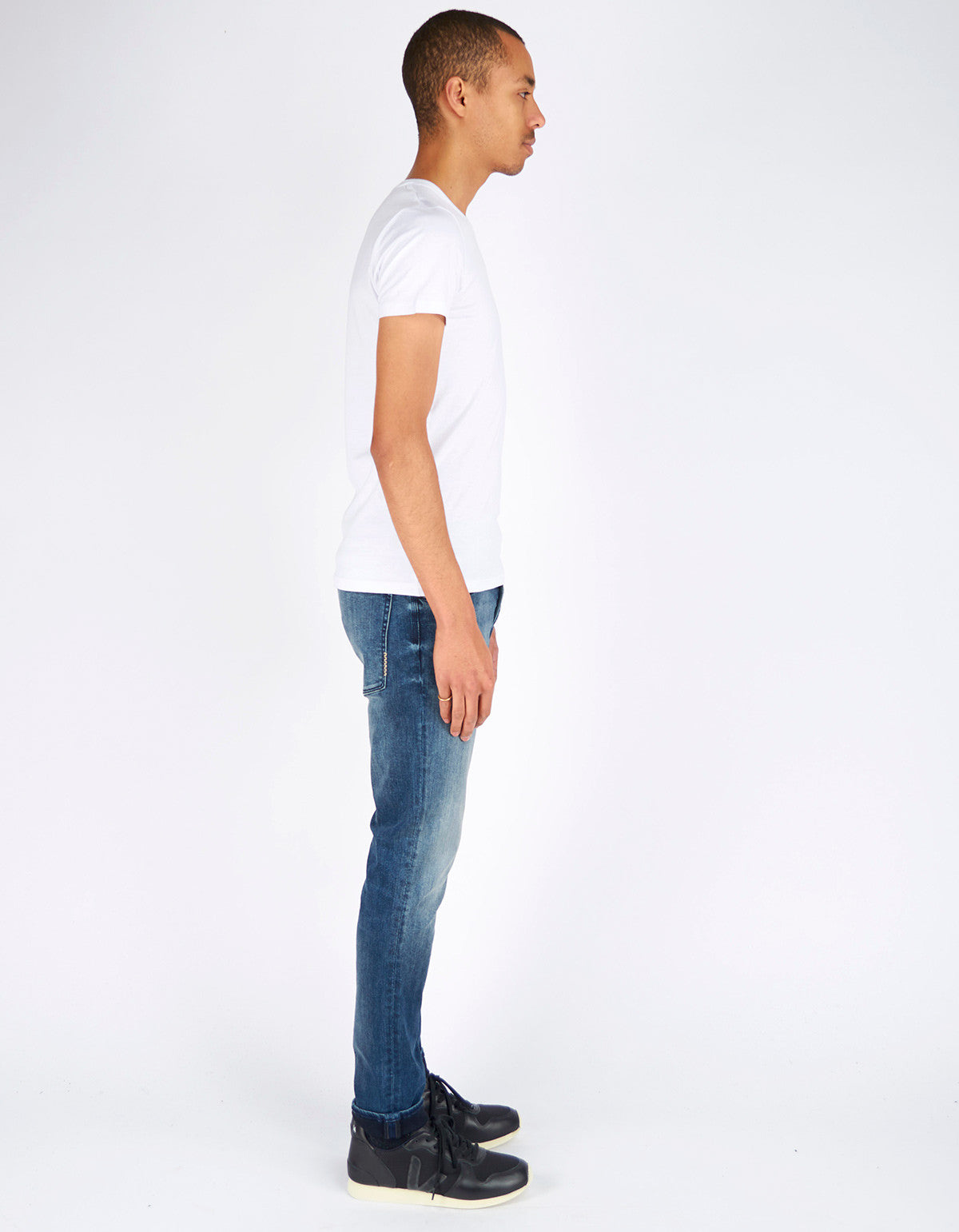Neuw Ray Tapered Jean Blue Washed - Still Life - 4
