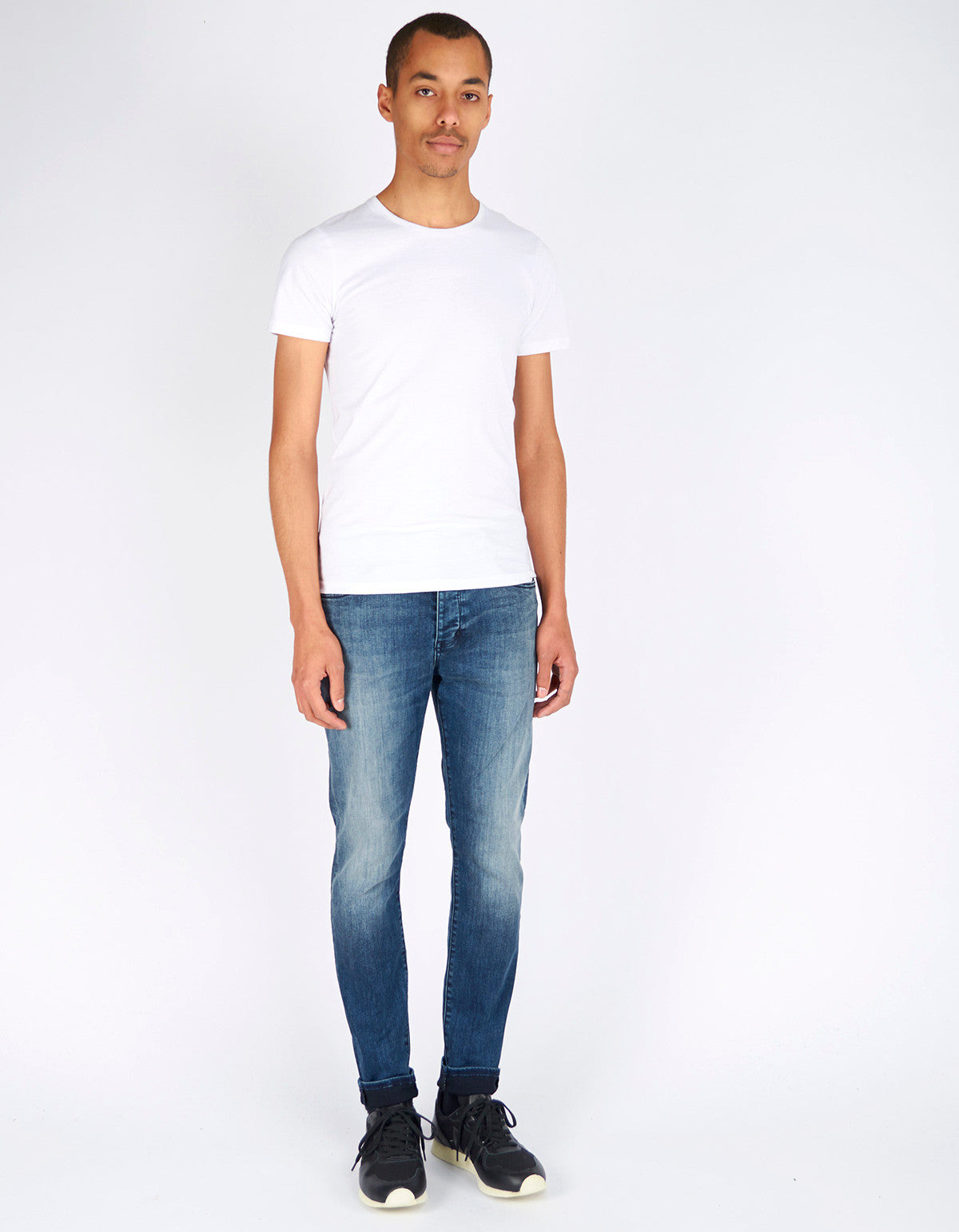 Neuw Ray Tapered Jean Blue Washed - Still Life - 5