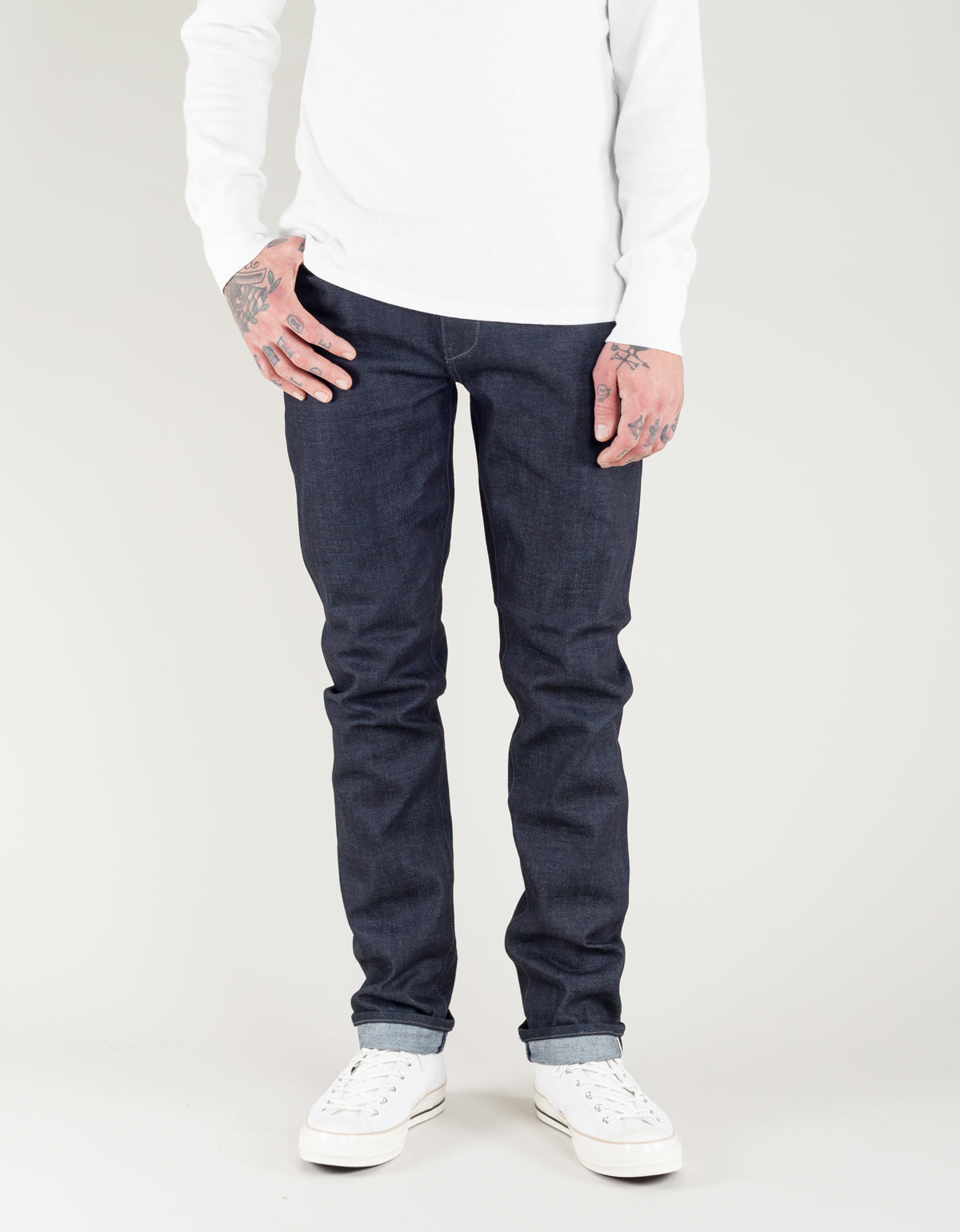 Neuw Serge Straight Jean Raw Selvedge