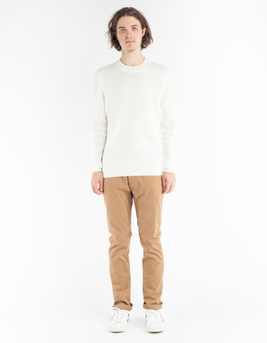 No Nationality Duncan Stripe Sweater Off White Stripe