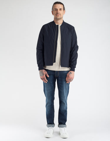 No Nationality Bomber Jacket Navy