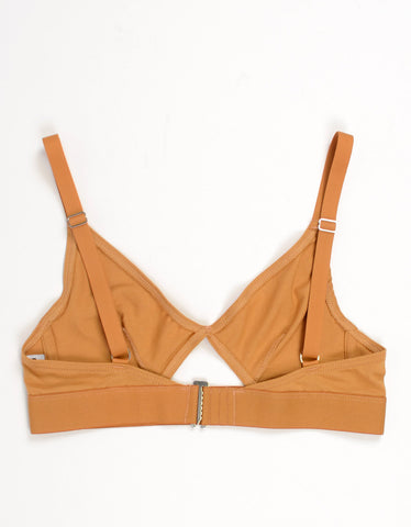 The Nude Label Cut Out Bra Caramel - Still Life - 2