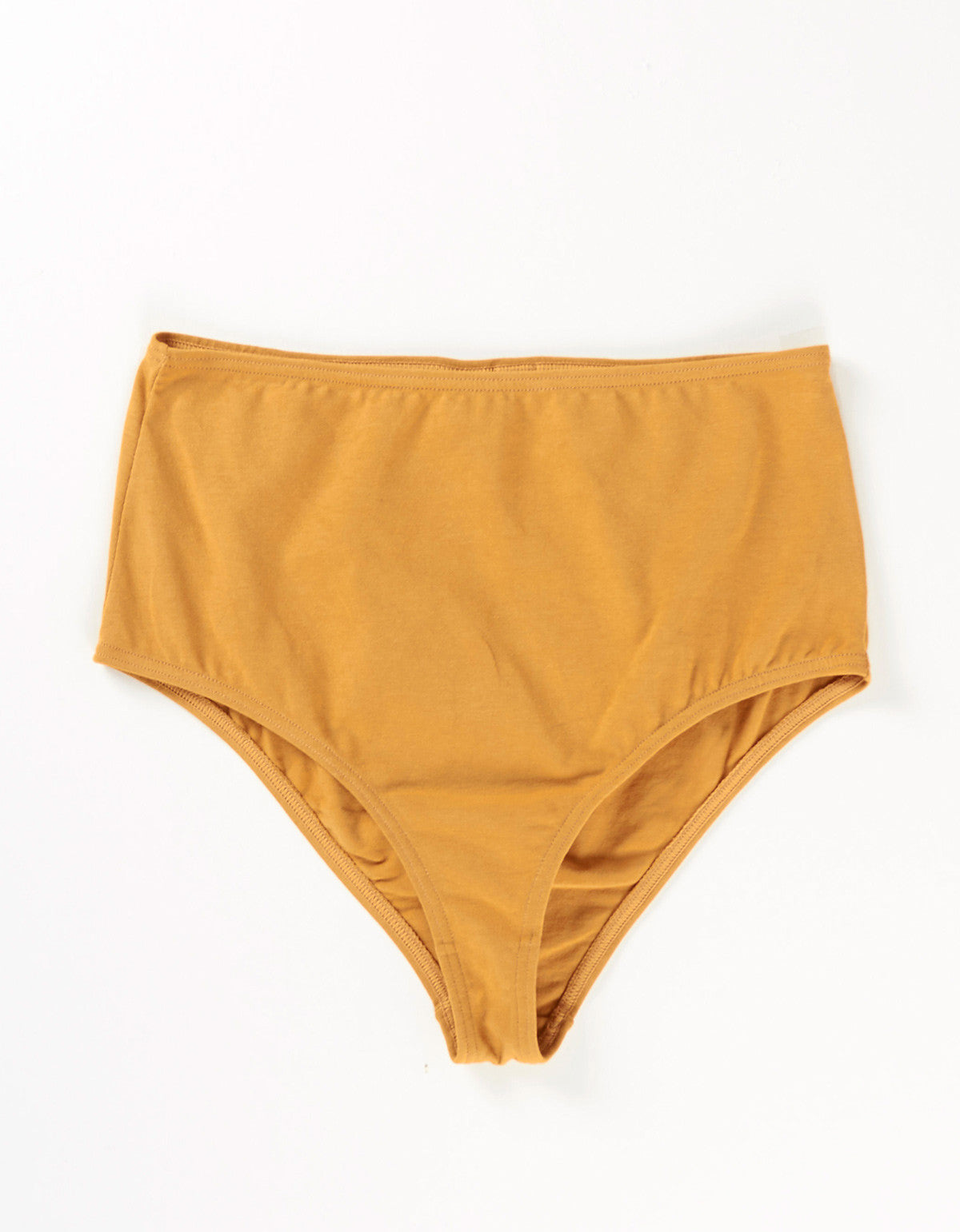 The Nude Label High Waisted Brief Caramel - Still Life - 1