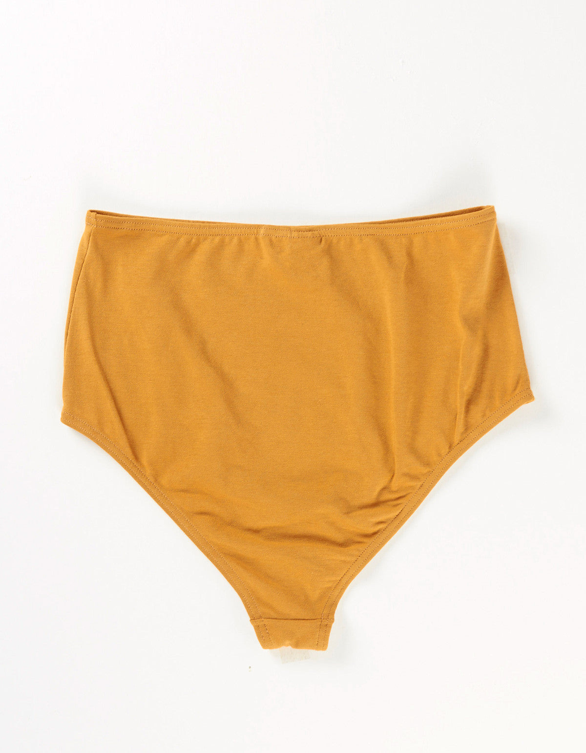The Nude Label High Waisted Brief Caramel - Still Life - 2